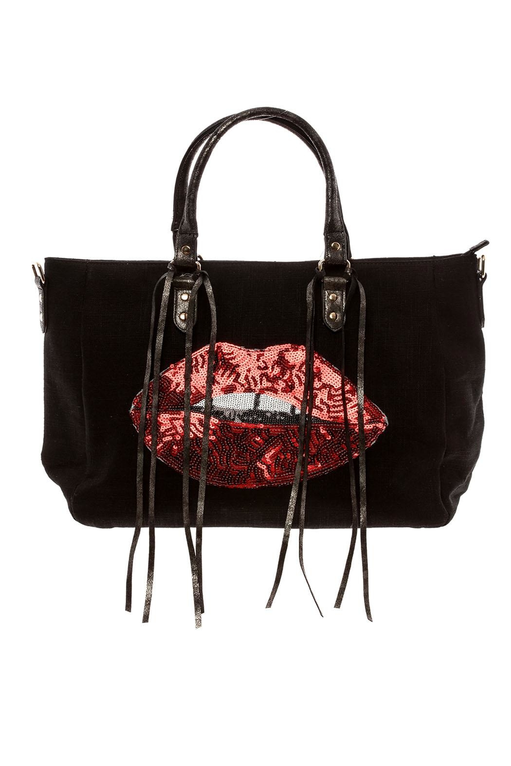 Ah!dorned Sequin Lips Tote - Main Image