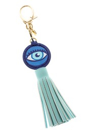 AH!DORNMENTS Evil Eye Tassle Keychain - Product Mini Image