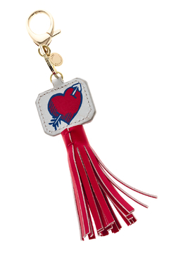 AH!DORNMENTS Heart Tassel Keychain - Alternate List Image