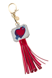 AH!DORNMENTS Heart Tassel Keychain - Product Mini Image