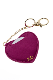 AH!DORNMENTS Pink Heart Keychain - Product Mini Image