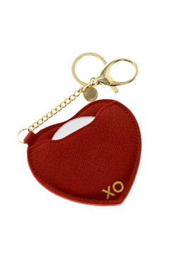 AH!DORNMENTS Red Heart Keychain - Alternate List Image