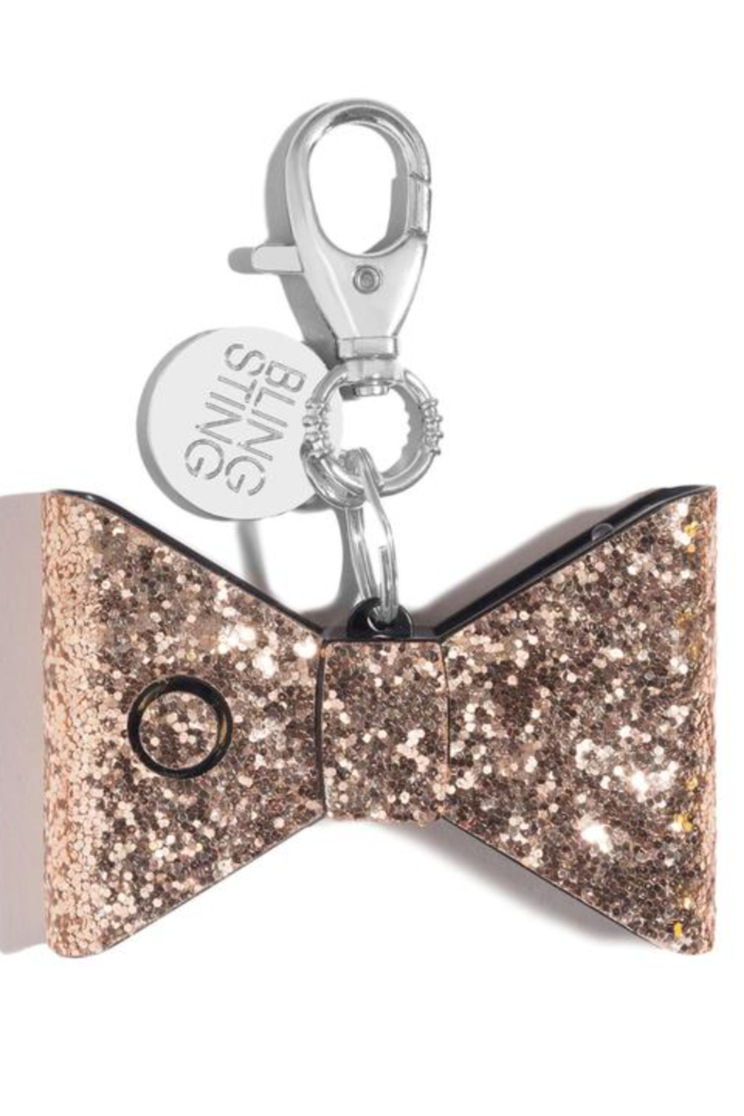 Super-Sparkly Safety Stuff Ahh!-larm Personal Safety Keychain - Front Cropped Image