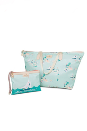 Spartina 449 Ahoy Packable Tote & Wristlet - Product Mini Image