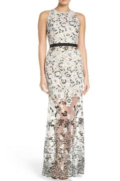 Aidan by Aidan Mattox Embroidered Gown - Product List Image