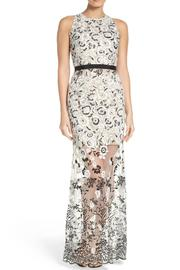 Aidan by Aidan Mattox Embroidered Gown - Product Mini Image