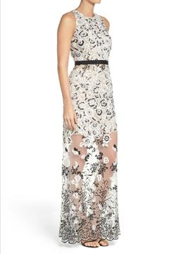 Aidan by Aidan Mattox Embroidered Gown - Alternate List Image