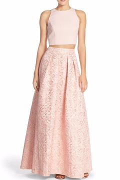 Aidan by Aidan Mattox Floral 2 Piece Ball Gown - Product List Image