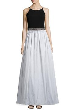 Aidan Mattox Beaded Waist Gown - Product List Image