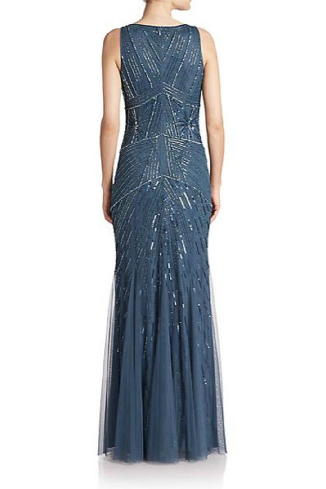 Aidan Mattox Embellished Godet Gown From New Jersey By