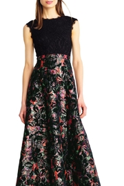 Aidan Mattox Floral Evening Gown - Product Mini Image