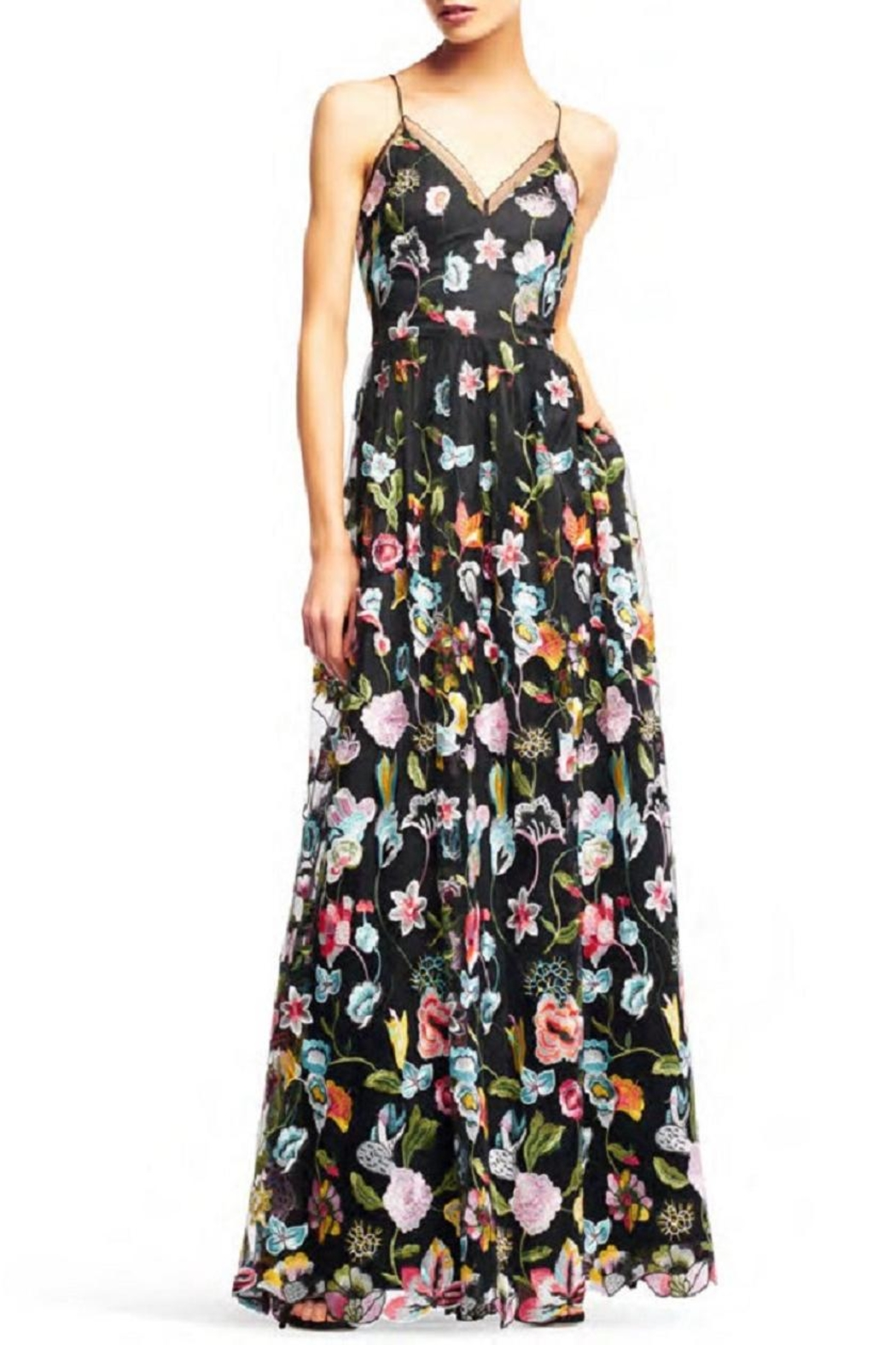 Aidan Mattox Floral Evening Gown from New Jersey by District 5 ...