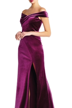 Aidan Mattox Off Shoulder Gown - Alternate List Image