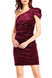 Aidan Mattox One-Shoulder Velvet - Product Mini Image