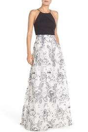 Aidan Mattox Sleeveless Floral Gown - Product Mini Image