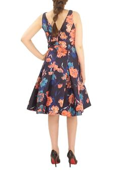 Aidan Mattox Sleeveless Printed Dress - Alternate List Image