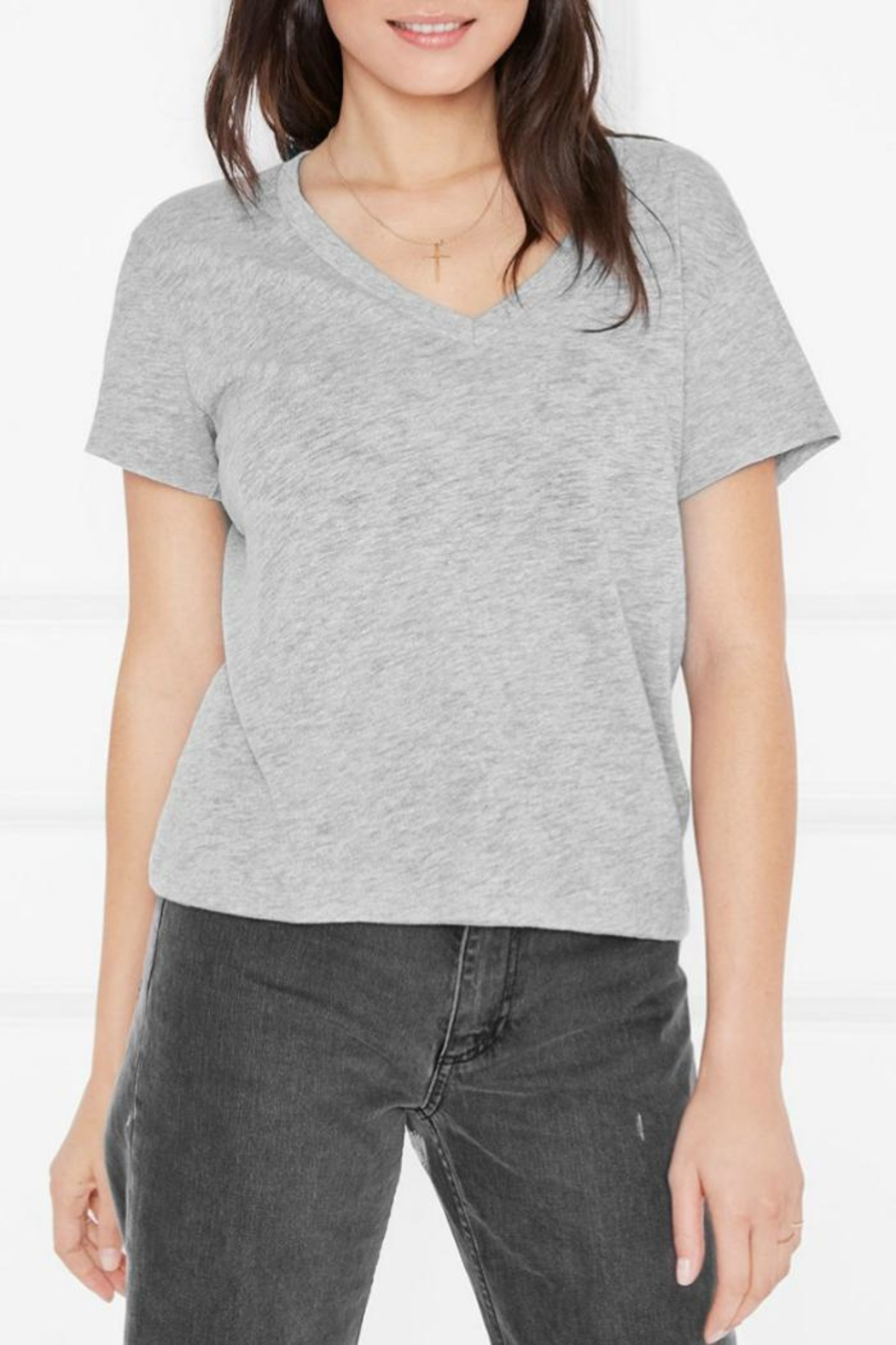 Anine Bing Aiden T-Shirt - Front Cropped Image