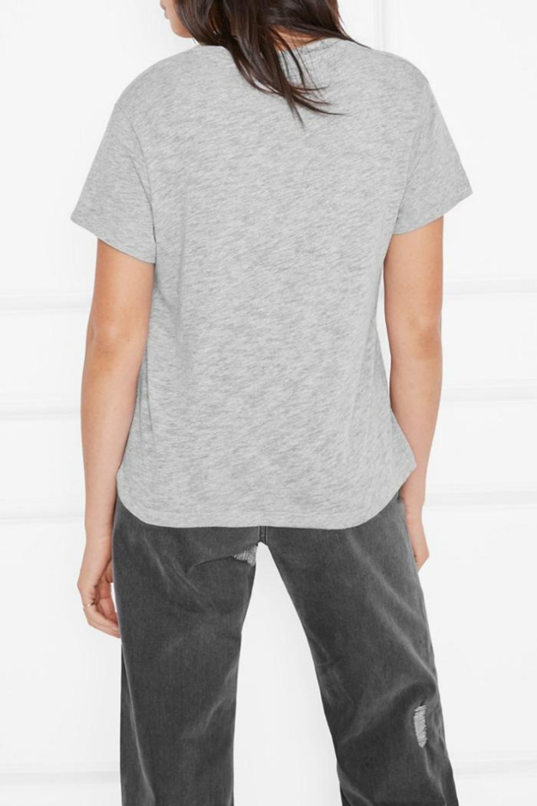 Anine Bing Aiden T-Shirt - Front Full Image