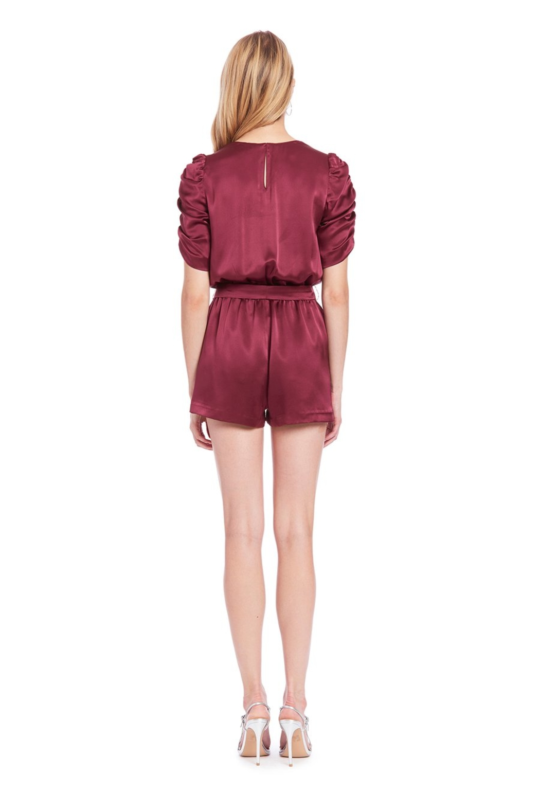Amanda Uprichard Aidy Romper - Side Cropped Image