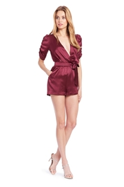 Amanda Uprichard Aidy Romper - Front full body