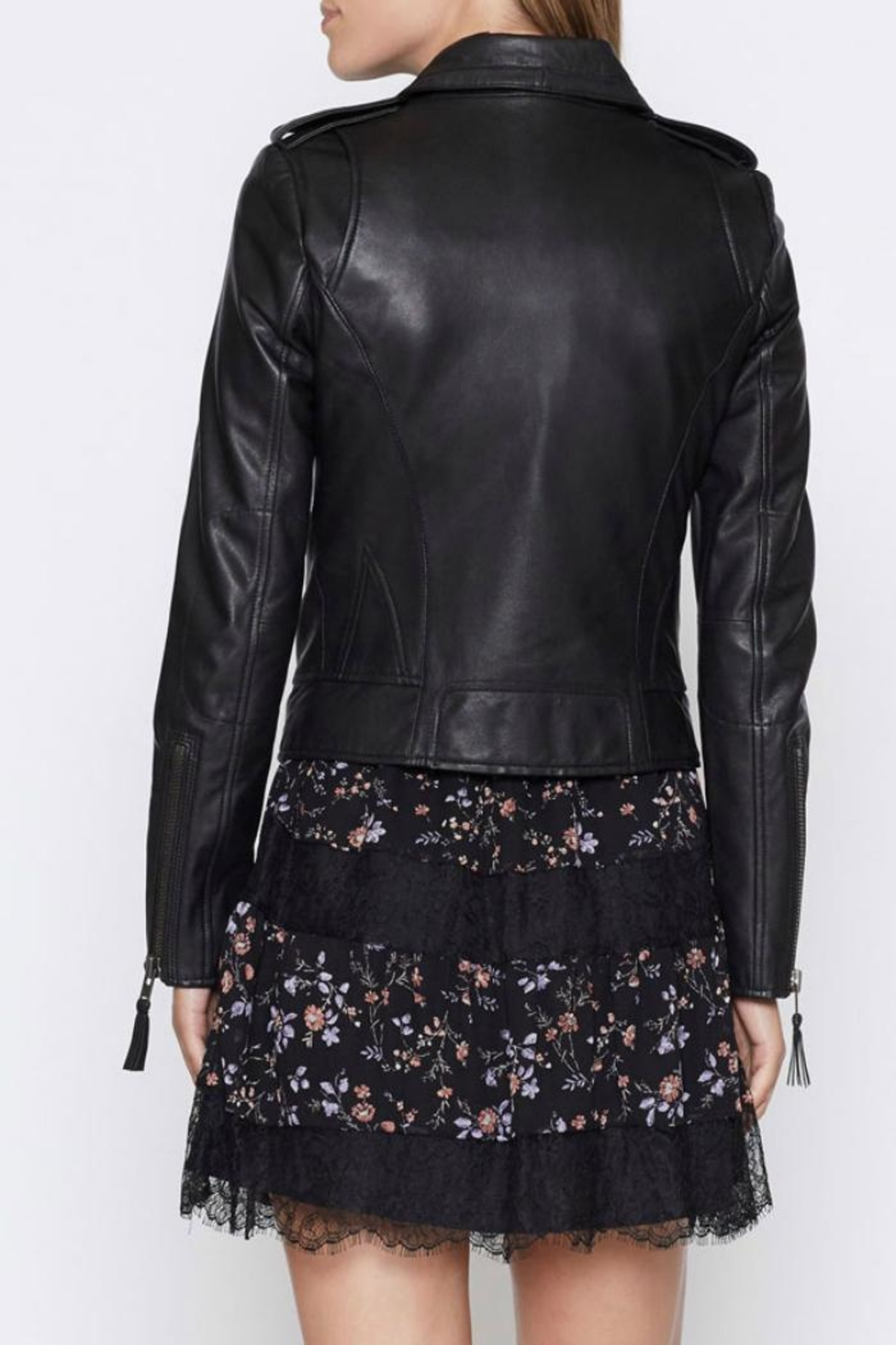 Joie Ailey Leather Jacket - Front Full Image