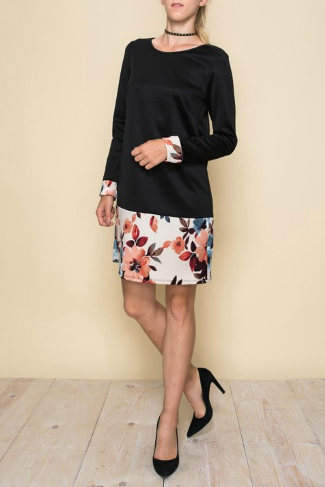 Aime Floral Retro Dress - Front Full Image