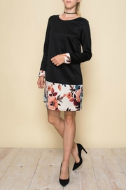 Aime Floral Retro Dress - Front full body