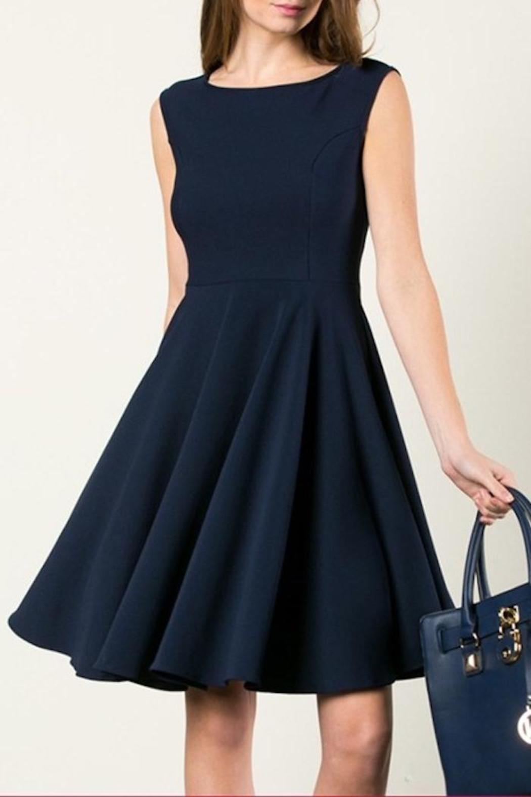 2033e6ac09d6 Aime Little Navy Dress from Minnesota by Apricot Lane - Duluth ...