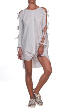 Shoptiques Product: Daisy Tie Shirtdress
