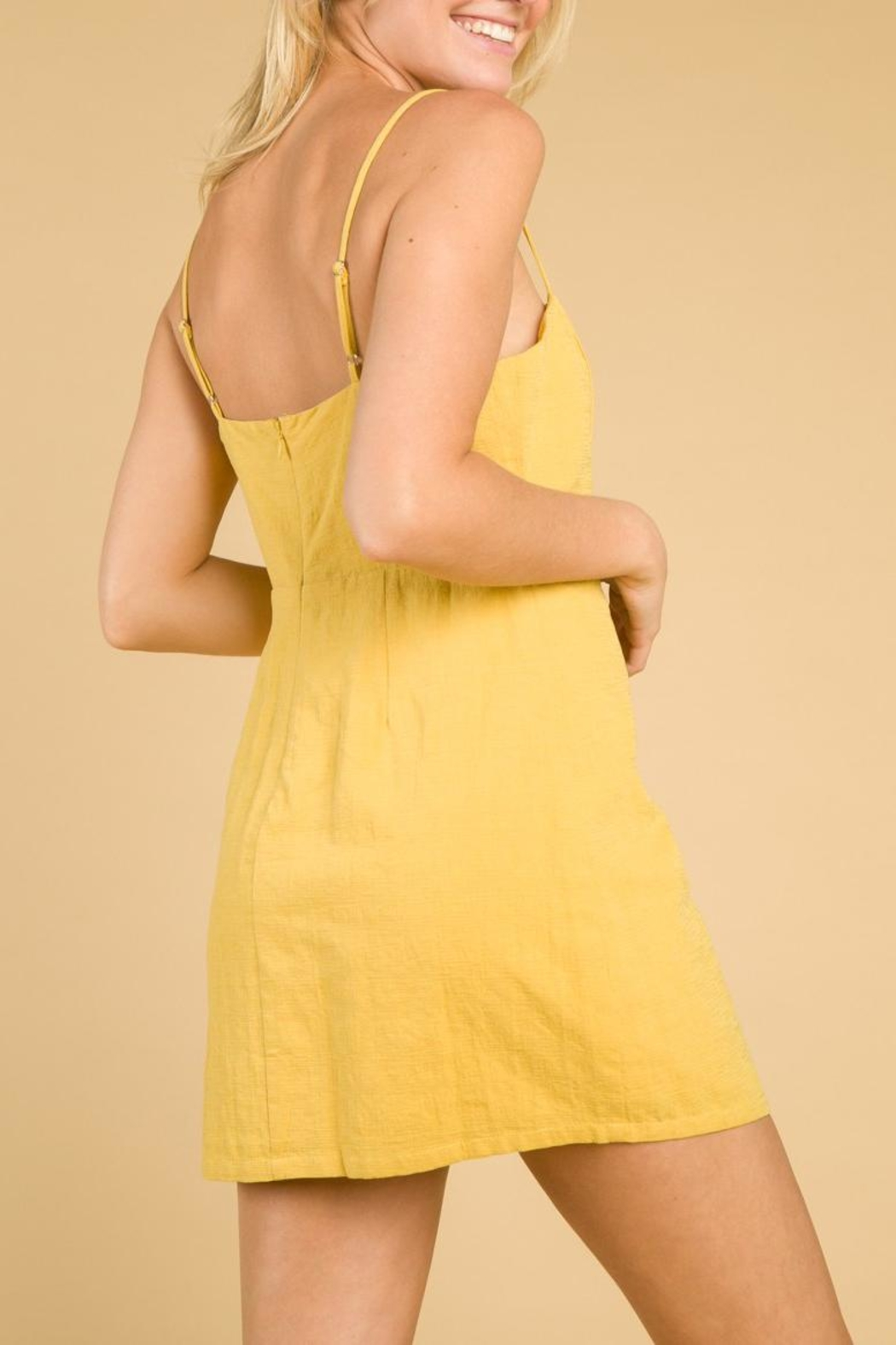 Honey Punch Aint Me Dress - Back Cropped Image