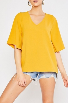 Mittoshop AIRFLOW FLUTTER SLEEVE BLOUSE - Product List Image