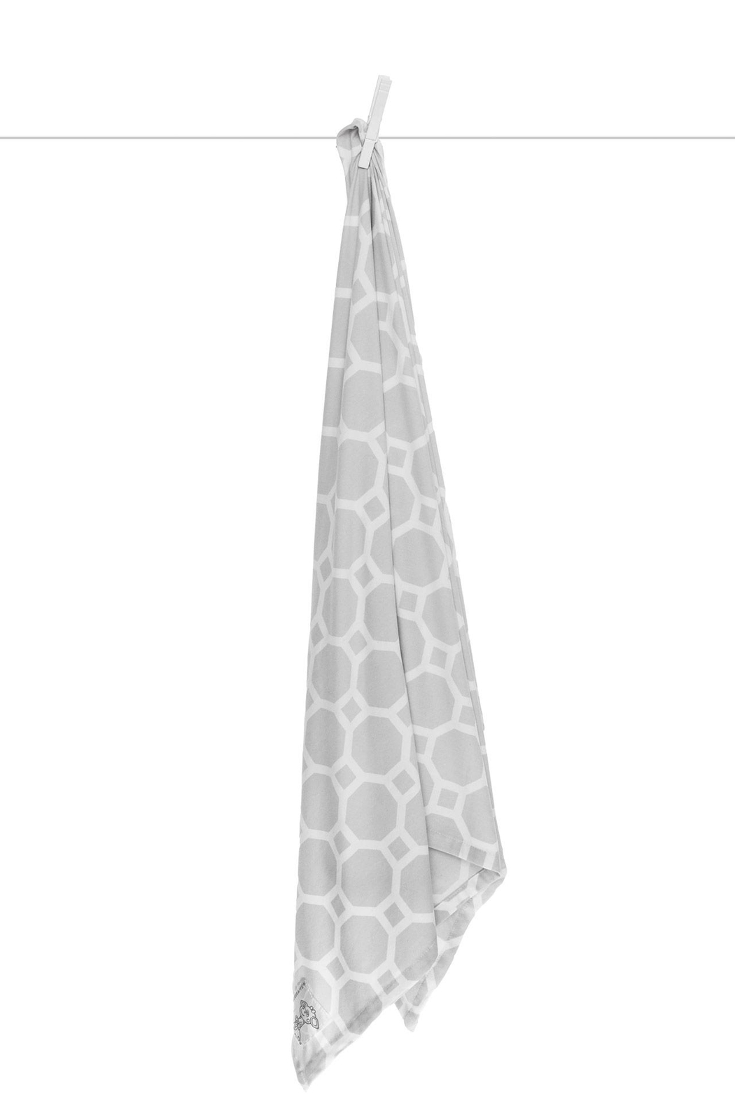 LITTLE GIRAFFE Airie Swaddle Blanket - Front Cropped Image