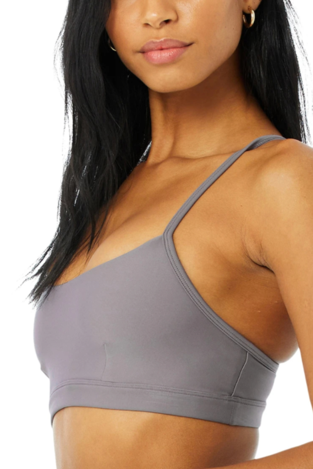 Alo Yoga  Airlift Intrigue Bra - Side Cropped Image