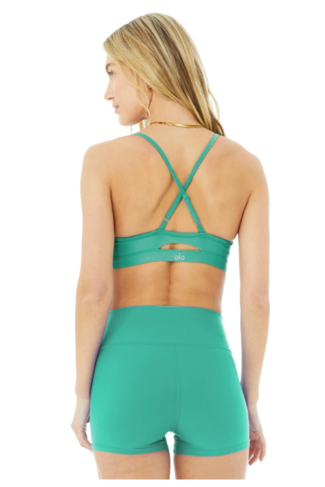 Alo Yoga  Airlift Intrigue Bra - Front Full Image