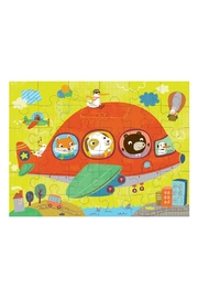 Mudpuppy Airplane Puzzle-To-Go - Front full body