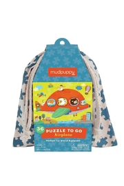 Mudpuppy Airplane Puzzle-To-Go - Front cropped