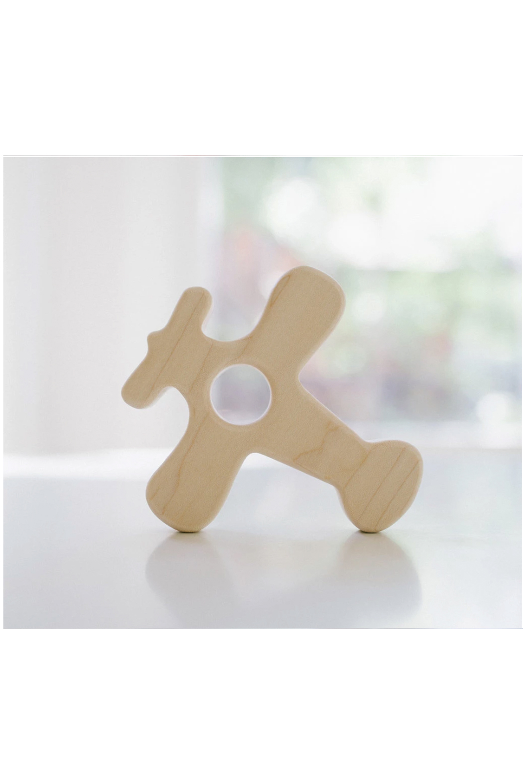 Bannor Toys  Airplane Wood Grasping Toy - Front Full Image