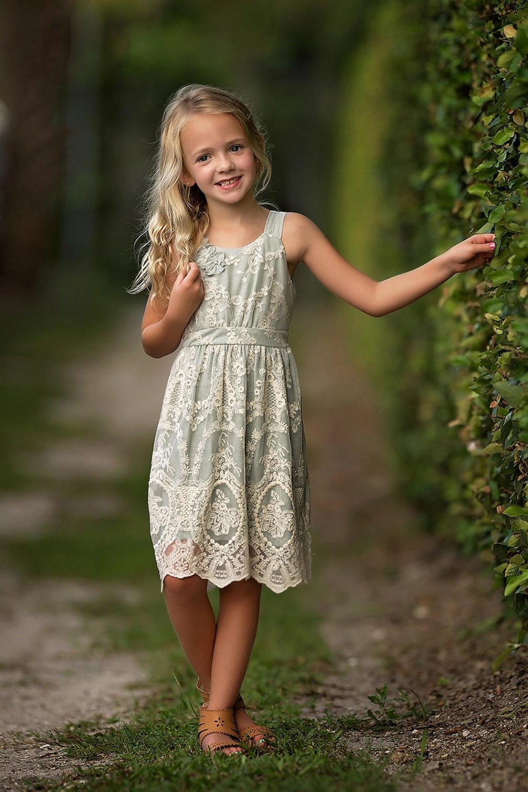 Isobella & Chloe Airy Dream Dress - Front Cropped Image