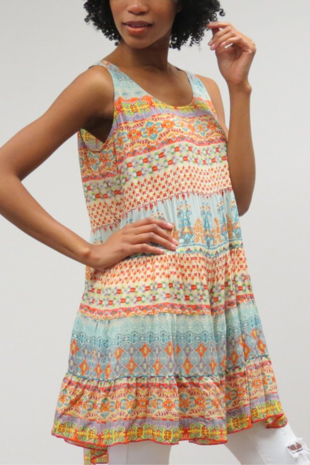 KYLA SEA Aisha Tank Dress - Main Image