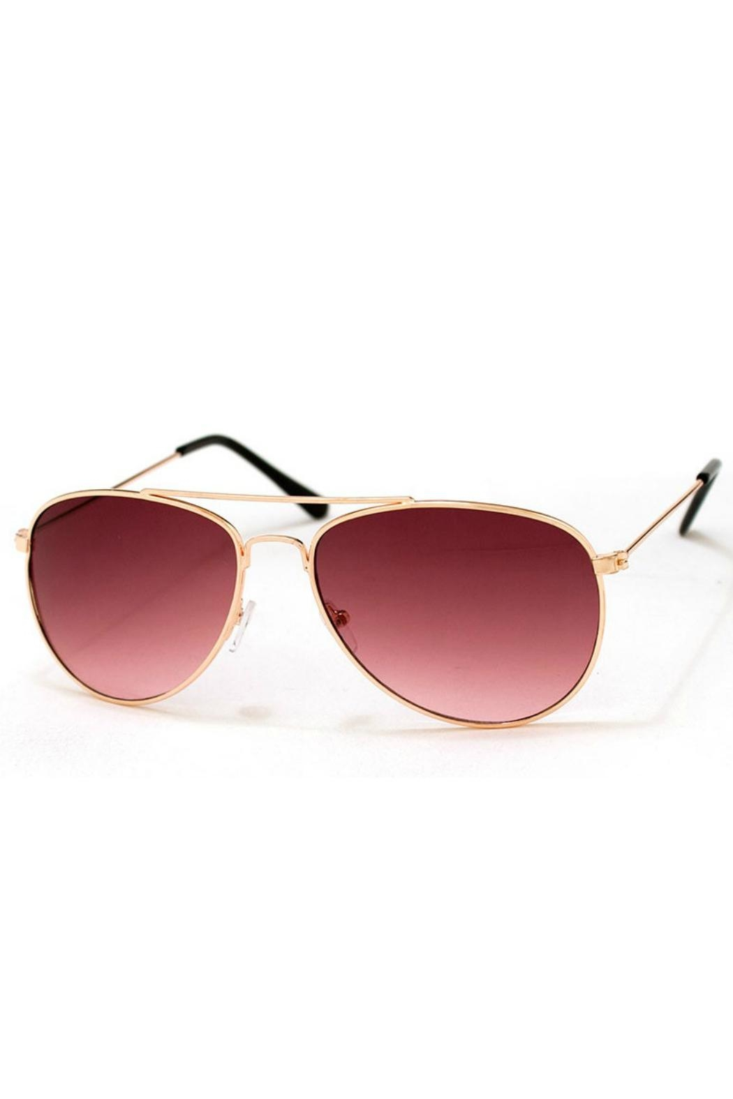 AJ Morgan Skye Pink Sunnies - Front Cropped Image