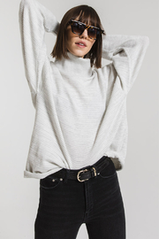 rag poets Aja Soft Knit Cowl Neck Sweater - Product Mini Image
