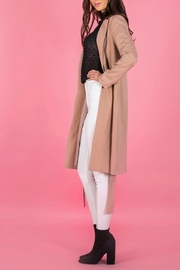 A.Joy Ocean Trench Coat - Back cropped