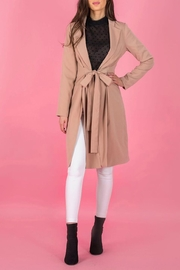 A.Joy Ocean Trench Coat - Front cropped