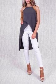 Ajoy Levora Asymmetrical Top - Product Mini Image