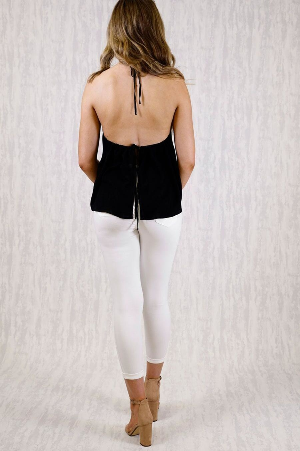 Ajoy Levora Brittany Top - Back Cropped Image