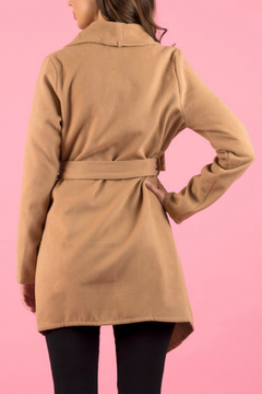 Ajoy Levora Collared Wrap Coat - Alternate List Image