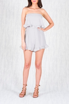 Ajoy Levora Double Tier Playsuit - Product List Image