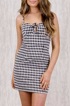 Ajoy Levora Gingham Dress - Product List Image