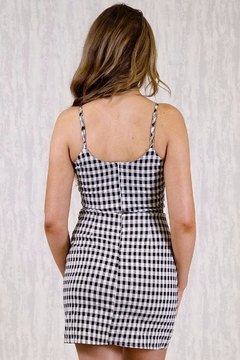 Ajoy Levora Gingham Dress - Alternate List Image