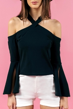 Shoptiques Product: Halter Sleeve Top